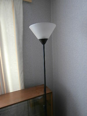 """Uplighter Floor Lamp & Bulb 70.5"""" Height, Ironing Board/cover & Weighing Scales"""