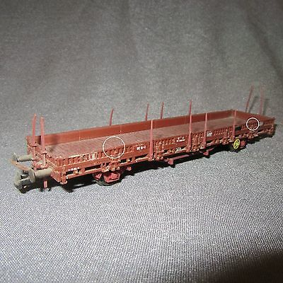581D Roco Wagon Plat Ranchers SNCF Ho