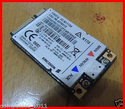 Ericsson F3507G 3G /WCDMA /HSPA WWAN Mini Card Modem 43Y6513 for Lenovo Thinkpad