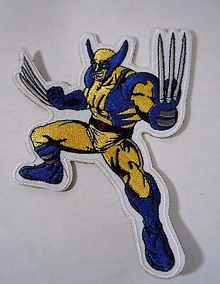 """WOLVERINE Super Hero Embroidered Iron-On Patch - 4"""" NEW"""