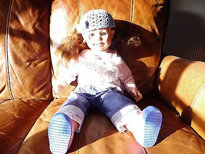 Rosie Lifesize toddler doll (Smoby) - blue hat