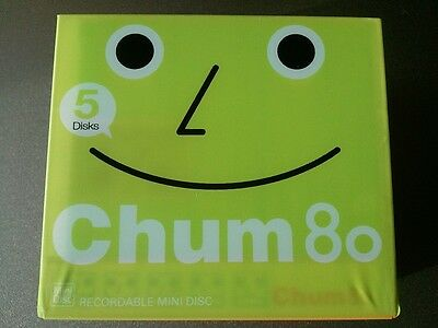 CHUM 80 minidisc, 5 color mix, made in japan, very rare!