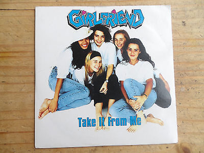 "Girlfriend Take It From Me 7"" Single Arista 1992 Ex Condition.."
