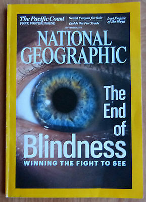 National Geographic Magazine - September 2016 - The End Of Blindness - Maya,