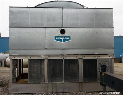 Used- Evapco Induced Draft Counterflow Cooling Tower, Model AT 112-318, 304 Stai