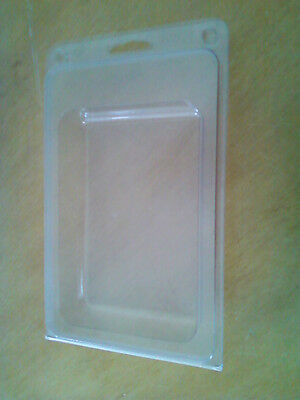 CLAMSHELL BLISTER PACKS CLEAR HANGING lot of 50