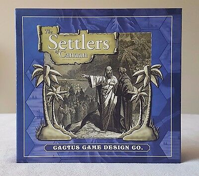 SETTLERS OF CANAAN Board Game Complete!