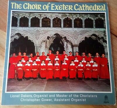 """The Choir of Exeter Cathedral 12"""" vinyl record"""