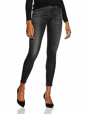 7 for all mankind THE SKINNY, Jeans Femme, Noir (Riche Noir), W26/L30...