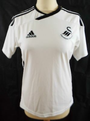 Swansea City AFC Football shirt - white - Adidas - size XS (34/36 chest) 2011/12