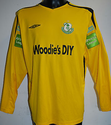 Shamrock Rovers GK Ireland Jamaica football soccer game match worn shirt jersey