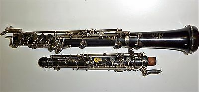 beautiful Noblet French wooden oboe
