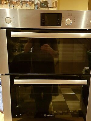 Bosch HBN13B251B Stainless Steel Double Oven RRp £699