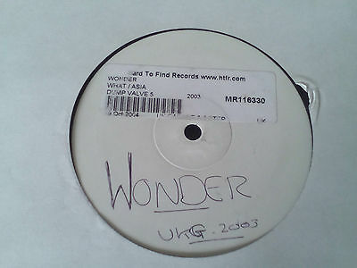 "DJ Wonder - What / Asia **LISTEN** MASSIVE GRIME TUNE 12"" Vinyl"