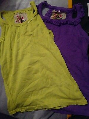 2 Girls summer vest tops tshirts 5 years from next