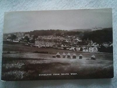 postcard of Dunblane from south west.