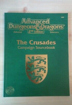 9469 Advanced Dungeons & Dragons 2nd Edition The Crusades Campaign Sourcebook