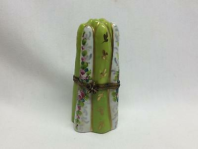 VTG La Gloriette LIMOGES BOX - Asparagus and Flowers