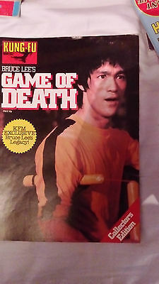 Bruce Lees game of death magazine