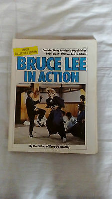 Bruce Lee In Action Book