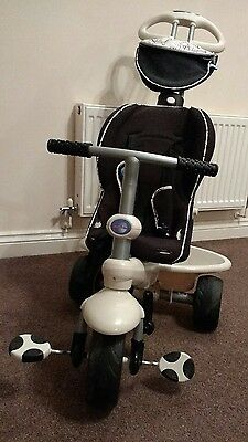 Smart Trike 4-in-1 Recliner in black, excellent condition