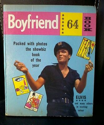 Vintage  Boyfriend 1964 Book Annual.Whats Hot in 64