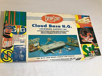 Captain Scarlet Cloud Base Colouring Activity Set