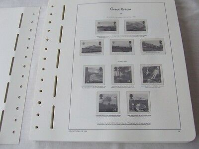 Lighthouse Great Britain 1994-01 Illustrated & Hingeless Stamp Album Leaves