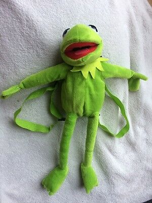 Brand New Kermit The Frog Backpack Bag, The Muppets