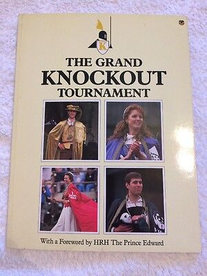 Grand Knockout Tournament,GOOD Book Royal Family Collectable 1987