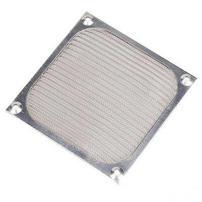 120mm Aluminum Filter Silver