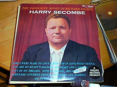LP/ HARRY SECOMBE /FAVOURITE SONGS OF RICHARD TAUBER (1960s MONO UK WING