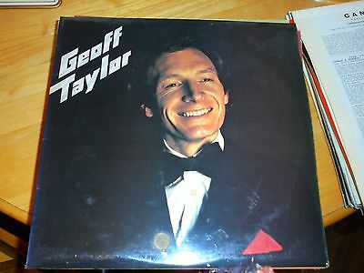 LP/ GEOFF TAYLOR /UNTITLED (AUTOGRAPED /1970s UK FLY BY NIGHT