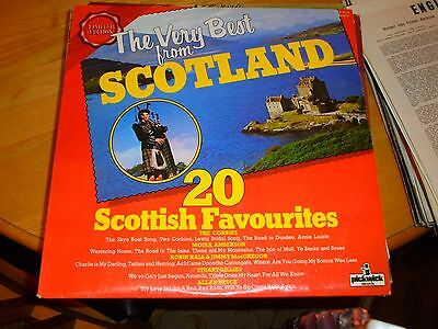 LP/ THE VERY BEST FROM SCOTLAND /20 SCOTTISH FAVOURITES (1970s UK PICKWICK