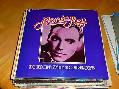 Lp/ Monte Rey /sings The Donkey Serenade & Other Favourites (1979 Emi Wrc