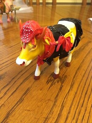 "Cows On Parade ""Miss Rhinestone  Cowgirl""Includes Original Packagin Item 7252"