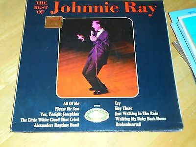 LP/ JOHNNIE RAY /THE BEST OF ...(1970s UK HALLMARK /STEREO