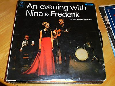 Lp/ Nina & Frederik / An Evening With ..at The Royal Albert Hall (1966 Mono Orig