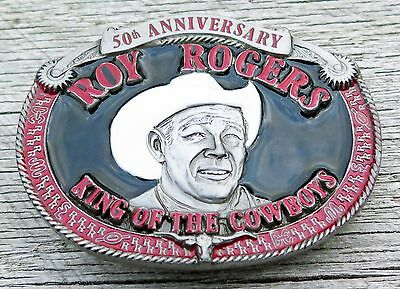 Roy Rogers King Of The Cowboys Vintage Belt Buckle
