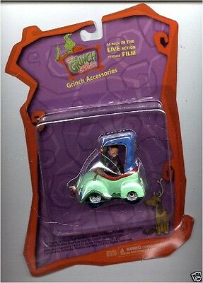 LAST 1 *  Who In Car*  ULTRA RARE Not Dept 56 Dr. Seuss  Grinch  New
