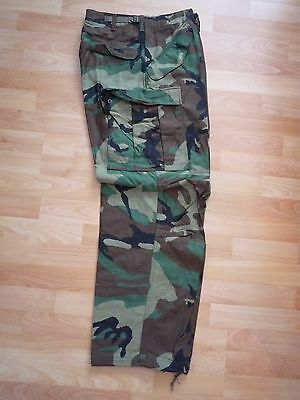New+Orig. US ARMY WOODLAND M65 TROUSERS FIELD COLD WEATHER COAT HOSE, JEEP BDU S