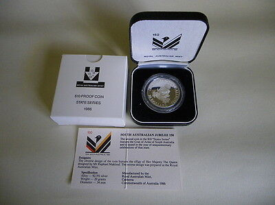 Royal Australian Mint 1986 Commemorative Issue $10 Proof coin (State Series)