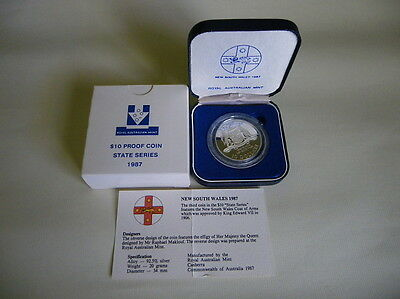 Royal Australian Mint 1987 Commemorative Issue $10 Proof coin (State Series)