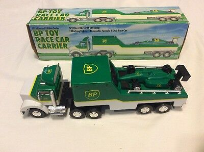 1993 Bp Toy Race Car Carrier Limited  Edition Series In Box