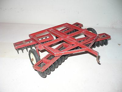 Vintage International Disk For A Tractor 1/16 Ih Crank Hitch Metal Gangs