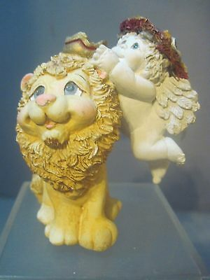 Dreamsicles Angel Crowning A Lion