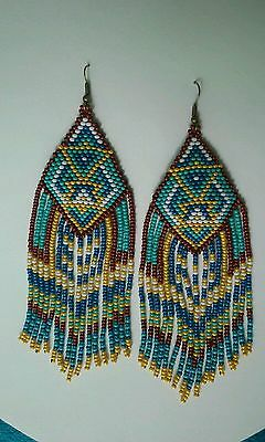Earrings, beautiful hand made, exclusive!