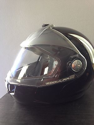 Skidoo Modular 2 Bombardier Snowmobile Helmet  Size SMALL