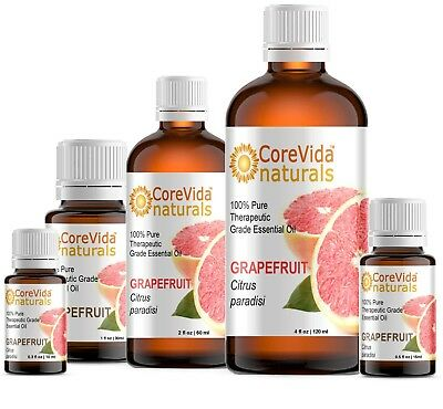 Grapefruit Essential Oil (.3oz - 4oz) 100% Pure Therapeutic Grade Essential Oil