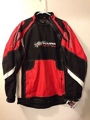 75% Off Polaris Racing Throttle  SNOWMOBILE Jacket Shell Men's Small $299.99